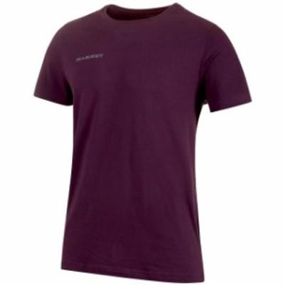 mammut マムート アウトドア 男性用ウェア Tシャツ mammut mammut-logo