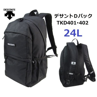 デサントスクエアDパック TKD401 容量約25L(中) (男女兼用) カラー/ブラック  2021NEWモデル
