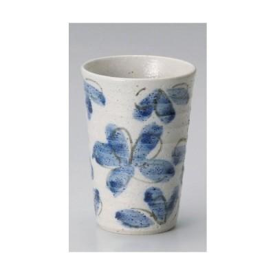 ☆ フリーカップ ☆ 花園藍フリーカップ [ φ8 x 11.5cm 約300cc ] 【 居酒屋 Bar 和食器 飲食店 業務用 】