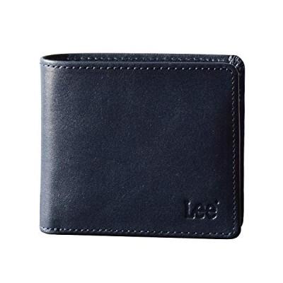 [リー] Lee 二つ折り財布 メンズ 0520233 ネイビー