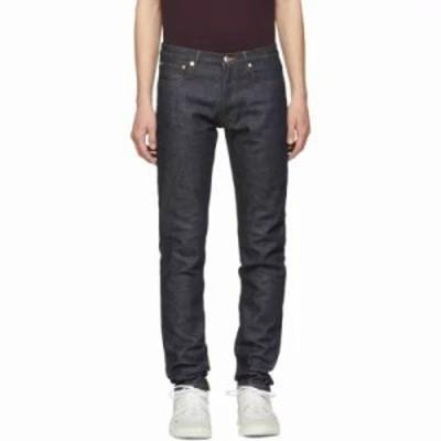 アーペーセー ジーンズ・デニム Indigo Raw Petit New Standard Jeans