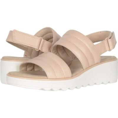 クラークス Clarks レディース サンダル・ミュール シューズ・靴 Jillian Flow Blush Leather
