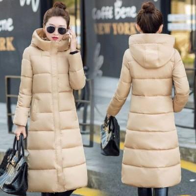 中綿ロングコート レディース ジャケット 着痩せ ロング丈 暖かい 秋冬 モッズコート ロング 送料無料