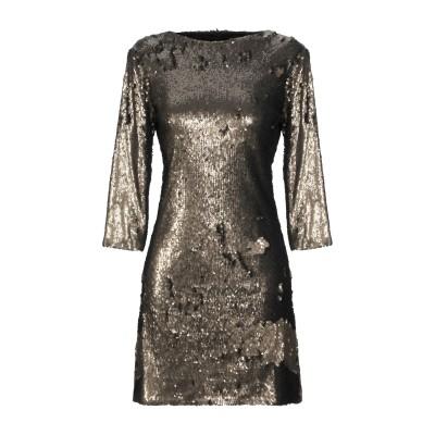 BY MALINA ミニワンピース&ドレス ブロンズ XL ポリエステル 100% ミニワンピース&ドレス