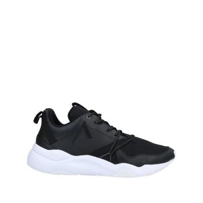 ARKK COPENHAGEN スニーカー&テニスシューズ(ローカット) ブラック 40 革 / 紡績繊維 スニーカー&テニスシューズ(ローカット)