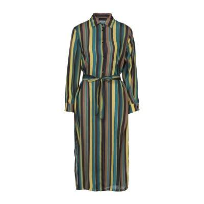VANESSA SCOTT 7分丈ワンピース・ドレス ディープジェード S ポリエステル 100% 7分丈ワンピース・ドレス