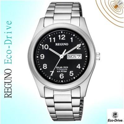 シチズン CITIZEN  レグノ 腕時計 メンズ 男性用  ソーラーテック エコ・ドライブ  10気圧防水 ポイント おすすめ KM1-415-53