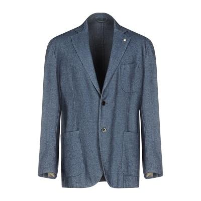 エル・ビー・エム 1911 L.B.M. 1911 テーラードジャケット ブルー 52 バージンウール 53% / コットン 47% テーラードジャ
