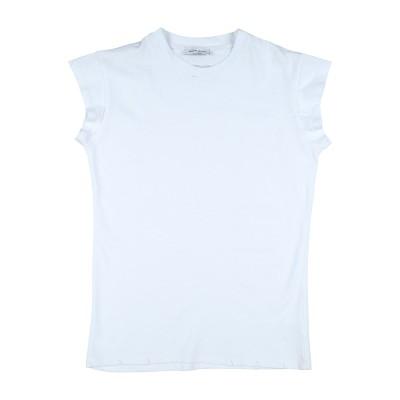 BRIAN RUSH T シャツ ホワイト 8 コットン 100% T シャツ