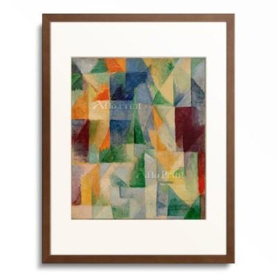 ロベール・ドローネー Robert Delaunay 「Window picture (1st part, 3rd motif)」