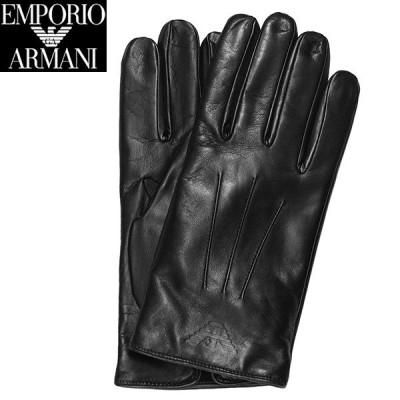 エンポリオ アルマーニ グローブ 手袋 メンズ レザー EMPORIO ARMANI 624515 9A241 00020