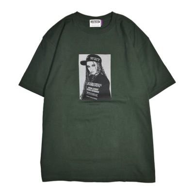 Tシャツ 半袖 メンズ ストリート ダブルスティール DOUBLE STEAL 2021 SPRING / Monochrome Girl Tシャツ