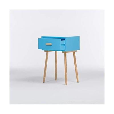 [新品]BJL-Bedside Table Drawer Locker-Bedside Table Nordic Modern Minimalist Solid Wood Bedside Table/Bedside Cabinet Creative Bedroom