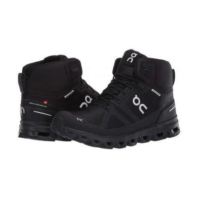 On オン レディース 女性用 シューズ 靴 ブーツ ハイキングブーツ Cloudrock Waterproof - All Black