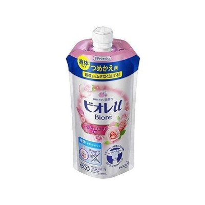 花王 ビオレu ボディウォッシュ エンジェルローズの香り つめかえ用 340ml