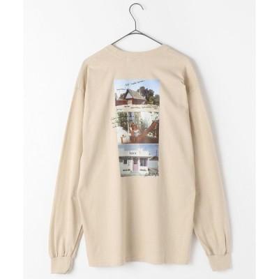 tシャツ Tシャツ LONG SLEEVE TEE ROBERTA1/ロングスリーブ ロベルタ1(フォトTシャツ/バックプリントロンT/ビッグシルエッ