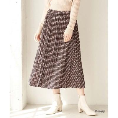 スカート 【アポロ my style×ロペピクニック】プリーツスカート