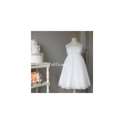 ウエディングドレス エンパイアドレス 二次会 花嫁ドレス カラードレス ウエディング エンパイアラインドレス