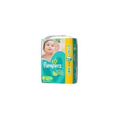 P&G 【Pampers(パンパース)】さらさらケア テープ ウルトラジャンボ Mサイズ 80枚〔おむつ〕
