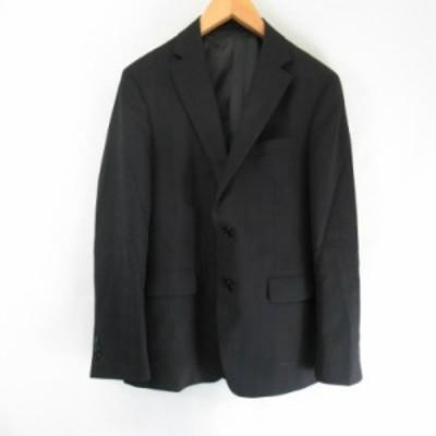 【中古】リトルノ RITORNO  ウール混 2Bジャケット  黒 ブラック A5 メンズ