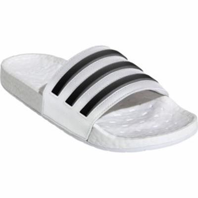 アディダス ADIDAS メンズ サンダル シューズ・靴 Adilette Boost Sport Slide White/Black/White