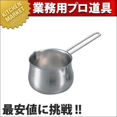 18-8ステンレス目盛付ミルクパン 1000ml (N)