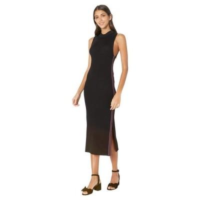 カップケーキアンドカシミア レディース ワンピース トップス Leola Sleeveless Sweater Dress w/ Stripe Trim