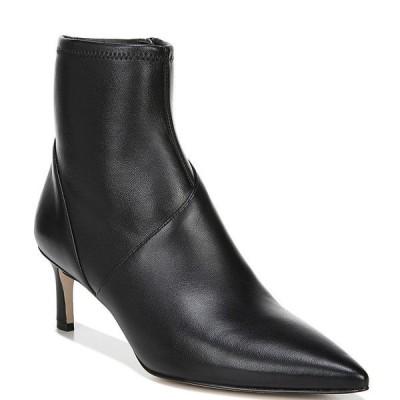 27エディット レディース ブーツ&レインブーツ シューズ Franca Leather Dress Booties Black Leather