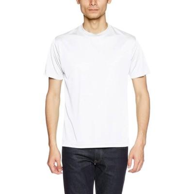 (ユナイテッドアスレ)UnitedAthle 4.7オンス ドライ シルキータッチ Tシャツ 508801 [メンズ] 001 ホワイト S