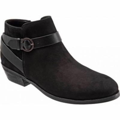 ソフトウォーク SoftWalk レディース ブーツ シューズ・靴 Raven Bootie Black Nubuck