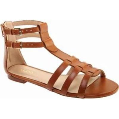 ALDO レディースサンダル ALDO Richland Gladiator Sandal Tan Leather