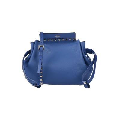 VALENTINO GARAVANI ハンドバッグ ブルー 革 ハンドバッグ
