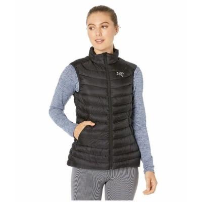 アークテリクス コート アウター レディース Cerium LT Vest Black 1