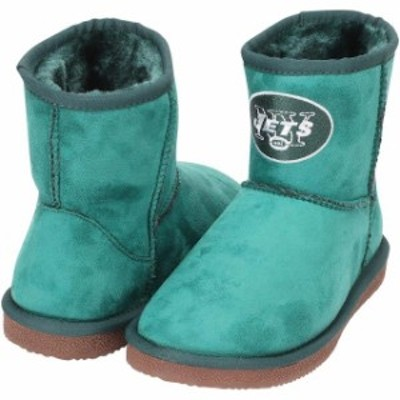 Cuce クーチェ シューズ ブーツ Cuce New York Jets Womens Green The Rookie Mini Boots