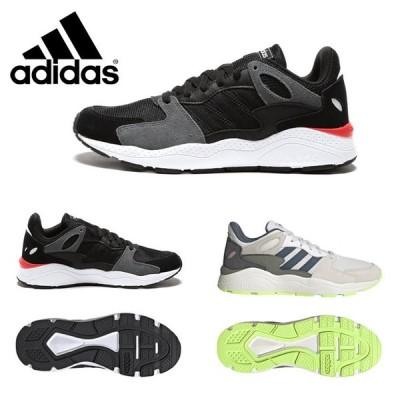 アディダス スニーカー adidas シューズ メンズ レザー 異素材ミックス スニーカー ADICHAOS BLACK アディケイオス