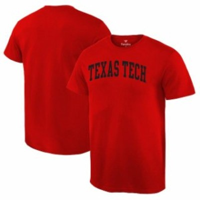Fanatics Branded ファナティクス ブランド スポーツ用品  Fanatics Branded Texas Tech Red Raiders Red Basic Arch T