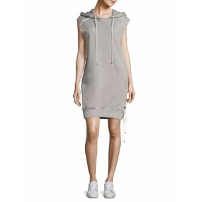 パブリック スクール レディース ワンピース Loren Cotton French Terry Hooded Dress