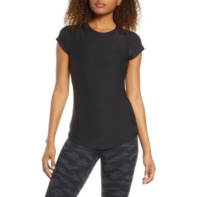 ニューバランス NEW BALANCE レディース Tシャツ トップス Transform Perfect T-Shirt Bk