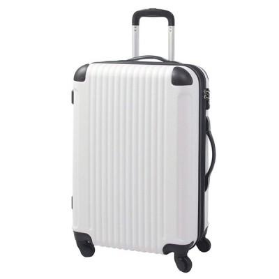 M型 ホワイト×ブラック / FK1212-1(POP・DO) スーツケース キャリーバッグ TSAロック搭載