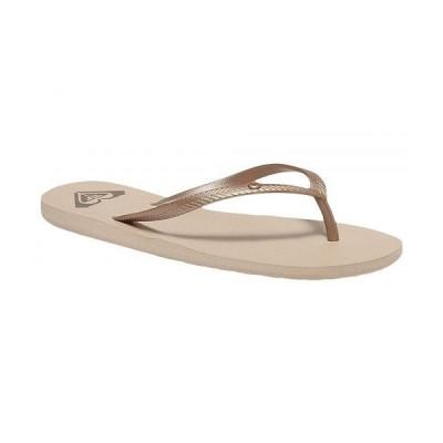 Roxy ロキシー レディース 女性用 シューズ 靴 サンダル Bermuda II - Gold Cream 2