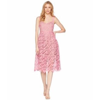 Donna Morgan ドナモーガン ドレス 一般 Lace Midi Dress with Sweetheart Neckline