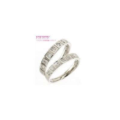 結婚指輪 ペアリング 2本セット ダイヤモンド プラチナ900 pt900 マリッジリング レディース ジュエリー アクセサリー