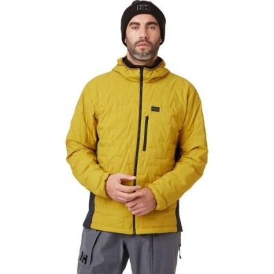 ヘリーハンセン Helly Hansen メンズ ジャケット フード アウター Lifaloft Hooded Stretch Insulator Jacket Antique Moss