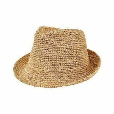 San Diego Hat  ファッション 帽子 San Diego Hat Company Womens  Crochet Raffia Fedora RHF6120