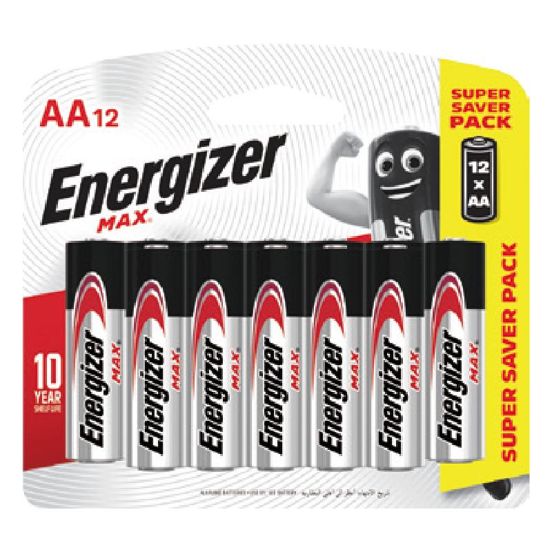 12pcs#3(Shd)勁量鹼性電池
