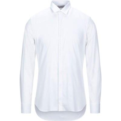 センス SSEINSE メンズ シャツ トップス solid color shirt White
