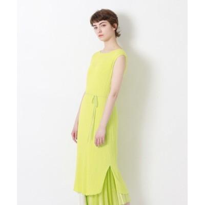 (LOVELESS WOMEN/ラブレス)【予約販売】楊柳ニットワンピース/レディース ライトグリーン