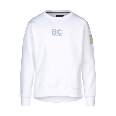 BEST COMPANY スウェットシャツ ホワイト S ポリエステル 57% / コットン 43% スウェットシャツ