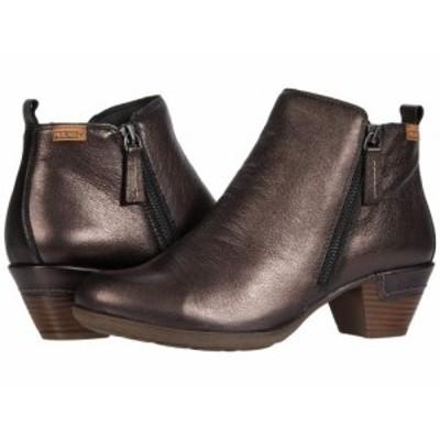 Pikolinos レディース 女性用 シューズ 靴 ブーツ アンクル ショートブーツ Rotterdam 902-8900CL Moka【送料無料】