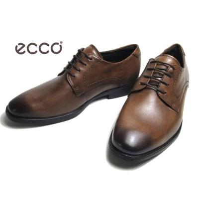 エコー ECCO MELBOURNE Plain Toe Tie 621634 アンバー プレーントゥレースアップ ビジネスシューズ メンズ 靴